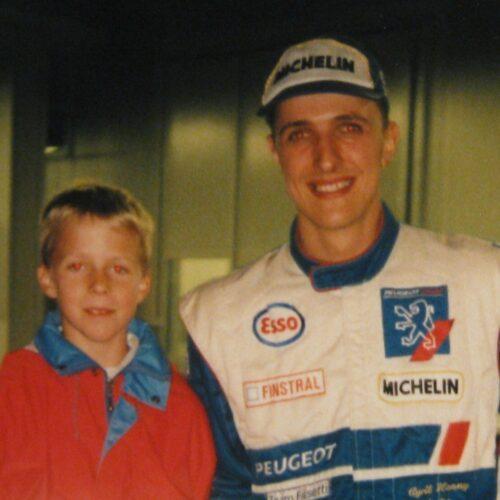 Cédric Beetschen mit Cyril Henny © ARchiv Betschen Motorsport Schweiz | Auto Sport Schweiz