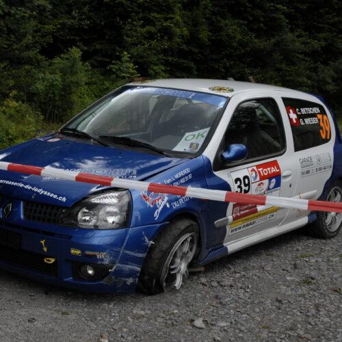 Erste Rallye: Chablais 2009 © Archiv Betschen Motorsport Schweiz | Auto Sport Schweiz