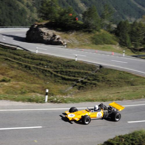 Ein McLaren am Bernina © free Motorsport Schweiz | Auto Sport Schweiz