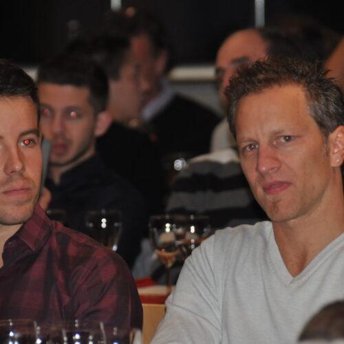 André Reinhard (à gauche) © Citino Motorsport Suisse | Auto Sport Suisse
