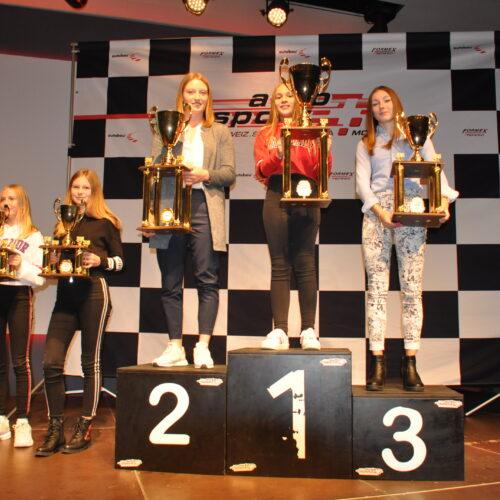 Lynn Neuhaus, Toni Kayla Naude, Isabelle von Lerber, Ekatarina Lüscher und Léna Bühler © Citino Motorsport Schweiz | Auto Sport Schweiz