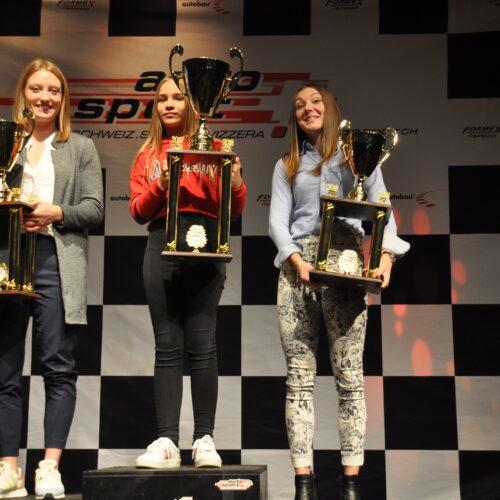 Isabelle von Lerber, Ekatarina Lüscher et Léna Bühler © Citino Motorsport Suisse | Auto Sport Suisse
