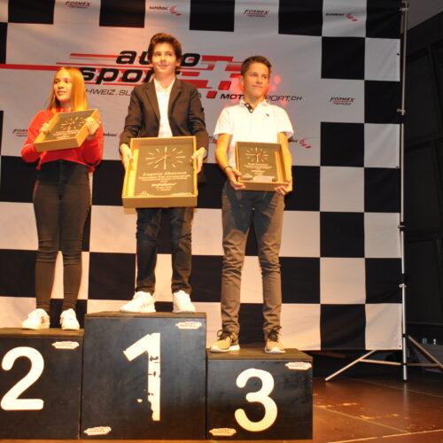Ekatarina Lüscher, Shannon Lugassy und Sebastian Kraft © Citino Motorsport Schweiz | Auto Sport Schweiz