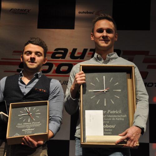 Pascal von Allmen et Patrick Näscher © Citino Motorsport Suisse | Auto Sport Suisse
