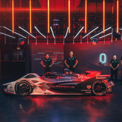 Neel Jani lors de la présenatation de Porsche © free Motorsport Suisse | Auto Sport Suisse