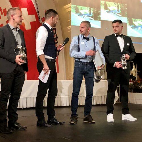 Steiner, Studer, Berguerand et Faustini © Eichenberger Motorsport Suisse | Auto Sport Suisse