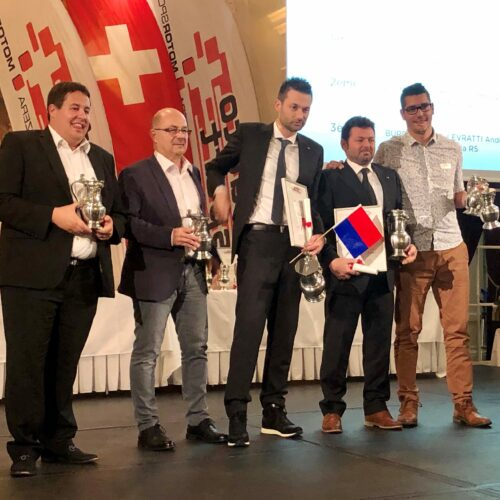 Comment, Salomon, Ballinari, Pagani und Burri jr. © Eichenberger Motorsport Schweiz | Auto Sport Schweiz
