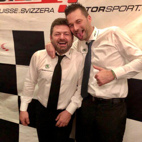 Pagani und Ballinari © Eichenberger Motorsport Schweiz | Auto Sport Schweiz