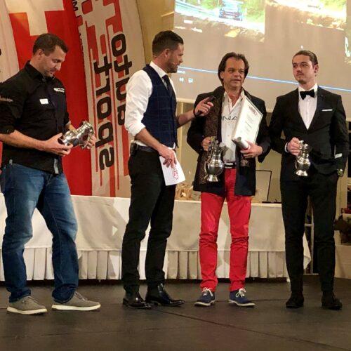 Schnellmann, Studer, Feigenwinter sr. et Feigenwinter jr. © Eichenberger Motorsport Suisse | Auto Sport Suisse
