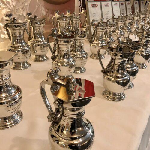 Les trophées © Eichenberger Motorsport Suisse | Auto Sport Suisse
