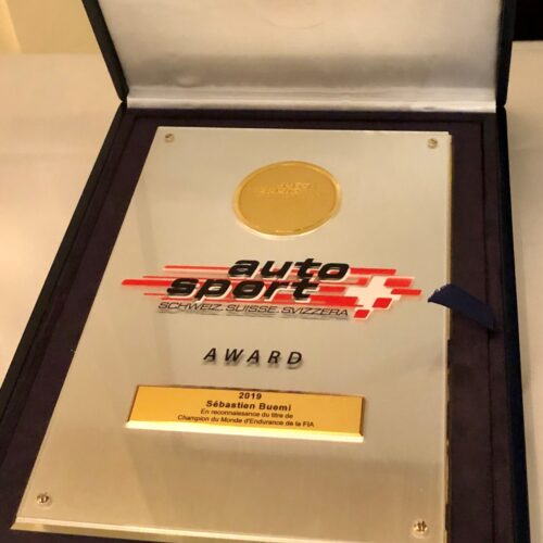 Auto Sport Suisse Award © Eichenberger Motorsport Suisse | Auto Sport Suisse