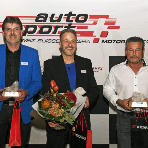 Schöpfer, Krebs und Bürki © Kaufmann Motorsport Schweiz | Auto Sport Schweiz