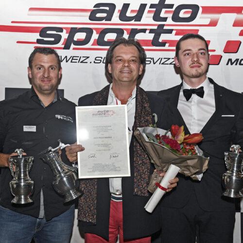 Schnellmann, Feigenwinter sr. et Feigenwinter jr. © Kaufmann Motorsport Suisse | Auto Sport Suisse