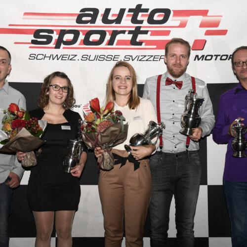 Berard, Greppin, Betschen, Betschen und Aubort © Kaufmann Motorsport Schweiz | Auto Sport Schweiz