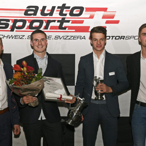 Siegrist, Thomann, Forcella und Müller © Kaufmann Motorsport Schweiz | Auto Sport Schweiz