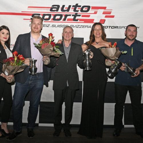 Junod, Roethlisberger, Valliccioni, Cardi und Rausis © Kaufmann Motorsport Schweiz | Auto Sport Schweiz