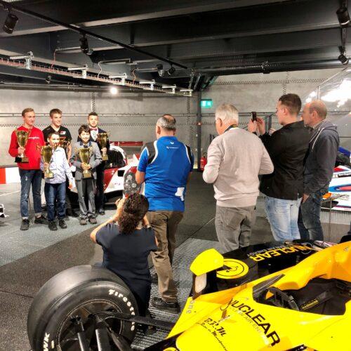 Les cinq champions © Eichenberger Motorsport Suisse | Auto Sport Suisse