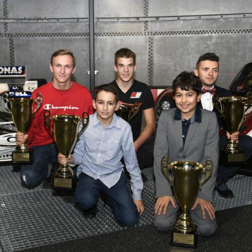 Müller, Moccia, von Allmen, Sperandio et Shaw © Kaufmann Motorsport Suisse | Auto Sport Suisse