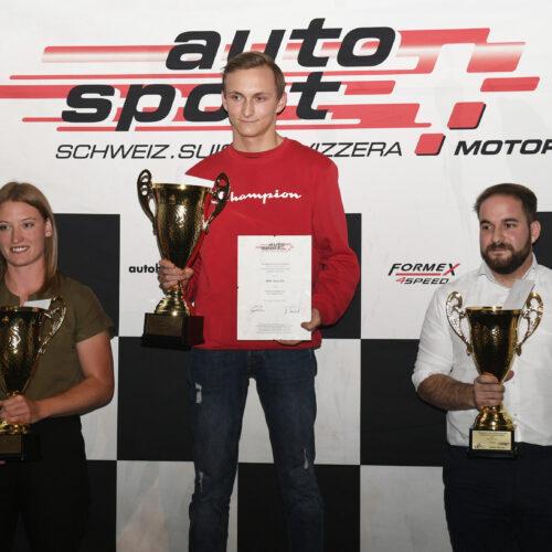 Von Lerber, Müller et Alvaro © Kaufmann Motorsport Suisse | Auto Sport Suisse