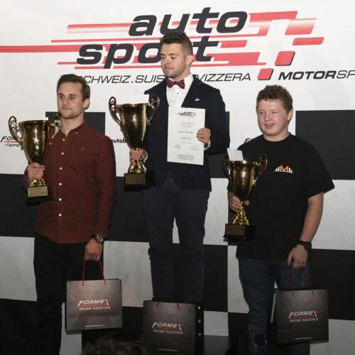 Näscher, von Allmen et Moser © Kaufmann Motorsport Suisse | Auto Sport Suisse