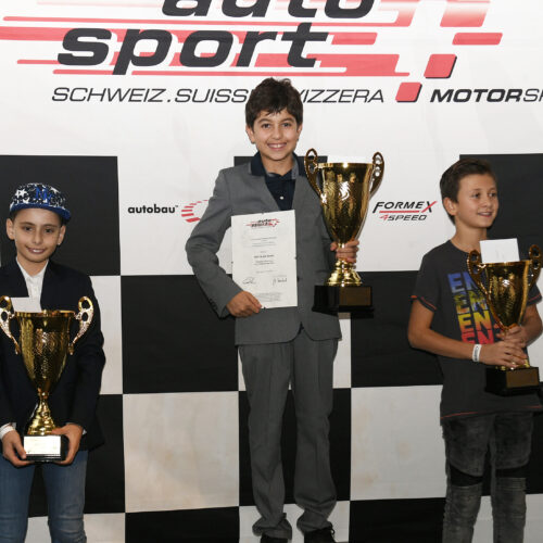 Pappacena, Shaw et Achermann © Kaufmann Motorsport Suisse | Auto Sport Suisse