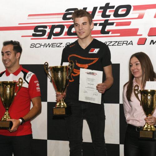 Aguiar, Moccia et Bühler © Kaufmann Motorsport Suisse | Auto Sport Suisse
