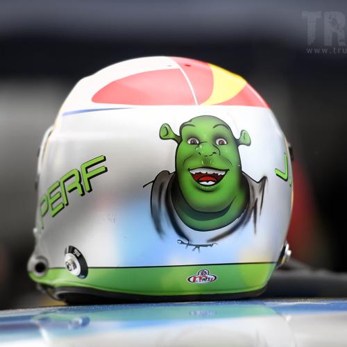 Auch Shrek war dabei © Trusk Images Motorsport Schweiz | Auto Sport Schweiz