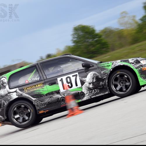 Olivier Frey à Biere © Trusk Images Motorsport Suisse | Auto Sport Suisse