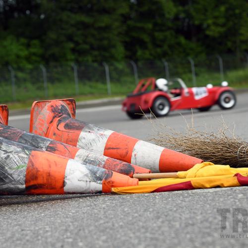Slalom à Romont © Trusk Images Motorsport Suisse | Auto Sport Suisse